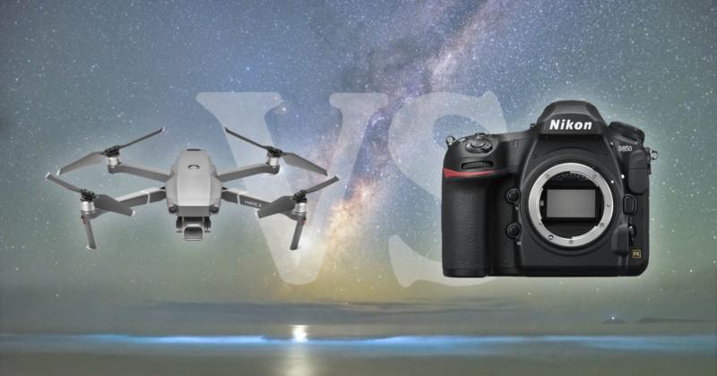 Drone vs Camera