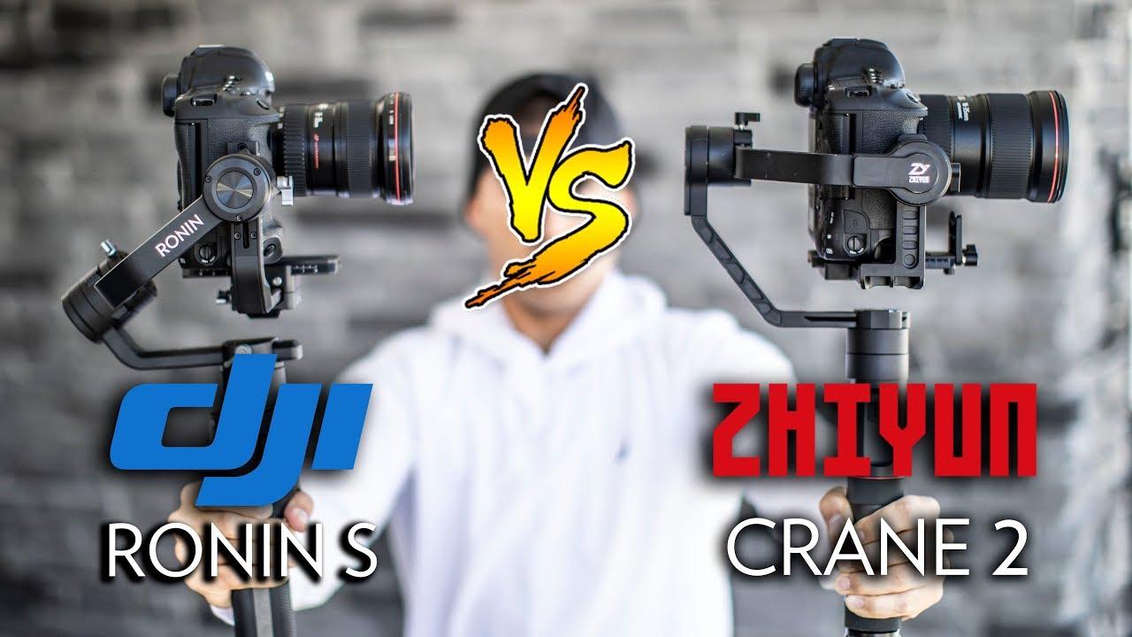 GIMBAL DJI RONIN S OR ZHIYUN CRANE 2